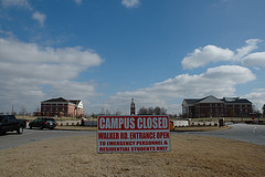 Campus Closed