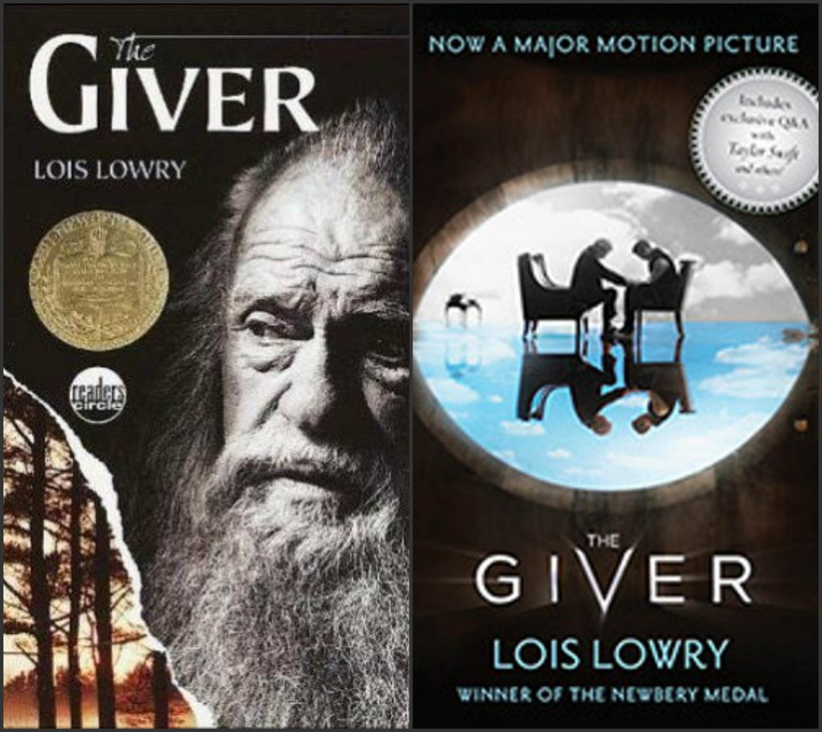 the giver book vs movie