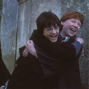harry-potter-harry-ron-hermione-happy-hugging-excited