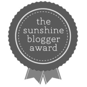 Afbeeldingsresultaat voor the sunshine blogger award