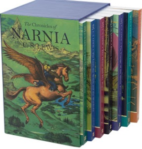 The Chronicles of Narnia box set full color